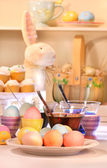 Dying eggs for Easter — Stock Photo
