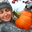 I love pumpkins — Stock Photo