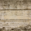 Peeling paint on grunge wooden wall - Stock Photo