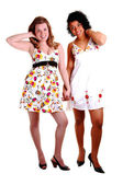 Due belle ragazze. — Foto Stock