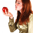 Royalty-Free Stock Photo: This apple is good.