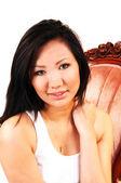 Schöne asiatische Frau. — Stockfoto