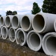 Concrete pipe - Stock Photo
