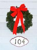 A Christmas wreath — Стоковое фото