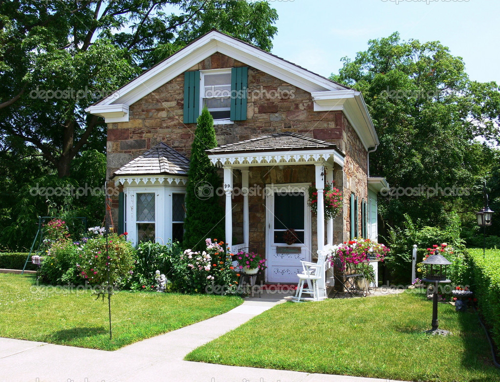 Cute house — Stock Photo © sucher #3600550