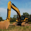 Stock Photo: Heavy excavator.