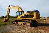 Heavy excavator. — Stock Photo