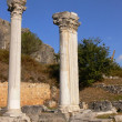 Two column in Ephesus. — Stock Photo
