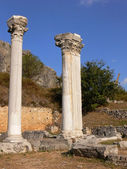 Two column in Ephesus. — Stock Photo