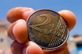 EuroCoin — Stock Photo