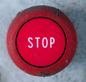 Stop Button — Stock Photo