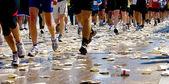 Runners Marathon — Stock Photo