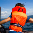 Stock Photo: Child with life vest