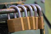 Security Locks — Stock Photo