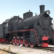 Steam locomotive train — Stock Photo #3691120
