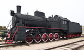 Steam locomotive train — Stock Photo