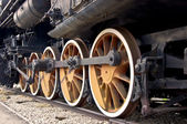 Steam train. — Stock Photo