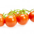 Royalty-Free Stock Photo: Juicy tomatoes isolated on white