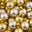 Foto Stock: Full pack of opaque christmas balls
