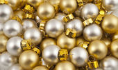 Full pack of opaque christmas balls — Stock Photo