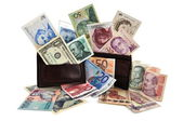 World currencies — Stock Photo