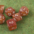 Full set of dice - Stock Photo