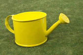 Yellow watering can 2 — Stock Photo