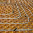 Stock Photo: Underfloor heating