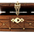 Royalty-Free Stock Photo: Wooden treasure chest