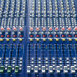 Mixer console — Stock Photo