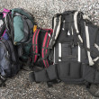 Backpacks — Stock fotografie