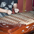 Khim hammered dulcimer — Stock Photo