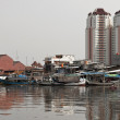 Old canal in Jakarta — Stock Photo #3919756