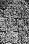 Hindu wall detail — Stockfoto