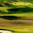 Golf place with nice green — Stock Photo #3241324