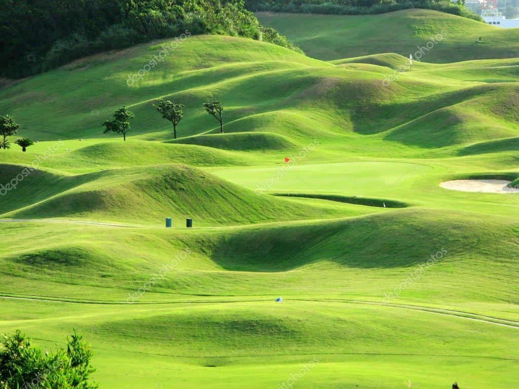 pin download beautiful golf grass land wallpaper hd on. Black Bedroom Furniture Sets. Home Design Ideas