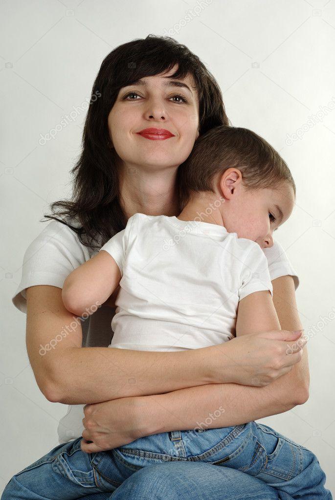 аналфото мама син