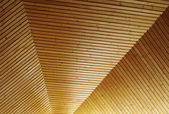 Wooden ceiling pattern — Stock Photo
