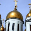 New Russian orthodox church - Stock Photo