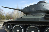 Russian Tank T-34 — Stock Photo