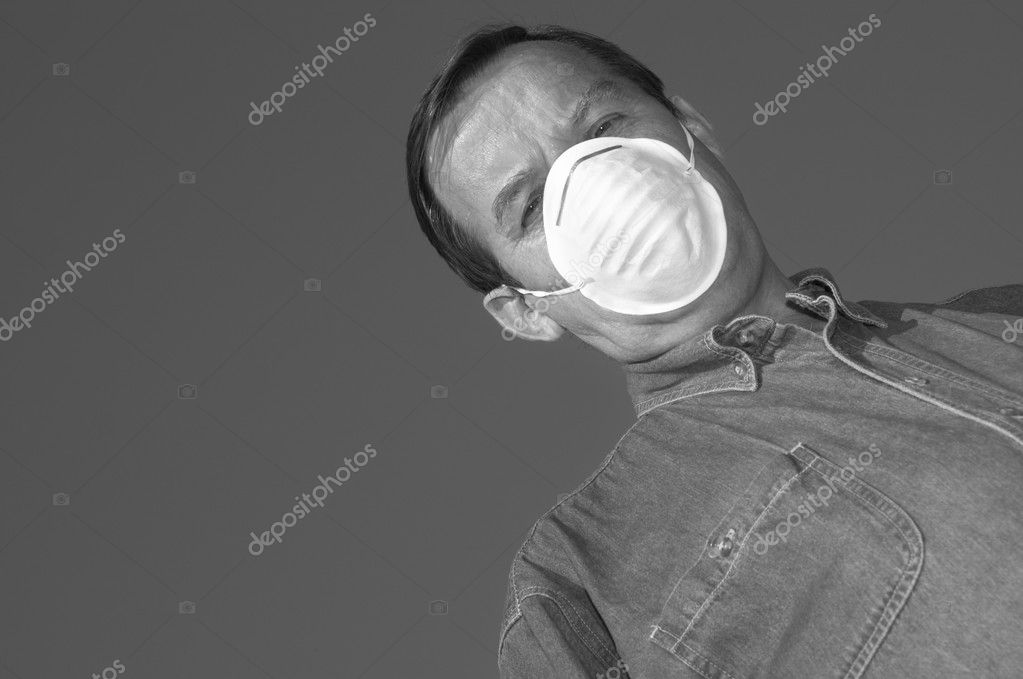 Man in mask — Stock Photo #3250647
