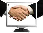 E-partnership — Stock Photo