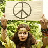 Hippie — Stock Photo