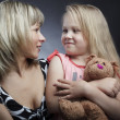 Mother and daughter2 — Stock Photo