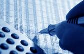 Finanzmarkt — Stock Photo