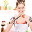 Royalty-Free Stock Photo: Housewife