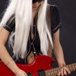 Royalty-Free Stock Photo: Rock babe