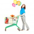 Holiday shopper — Stock Photo #3262742