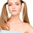 Lovely woman in towel — Stockfoto #3388013