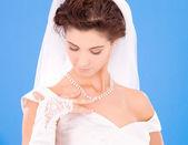 Sposa felice — Foto Stock